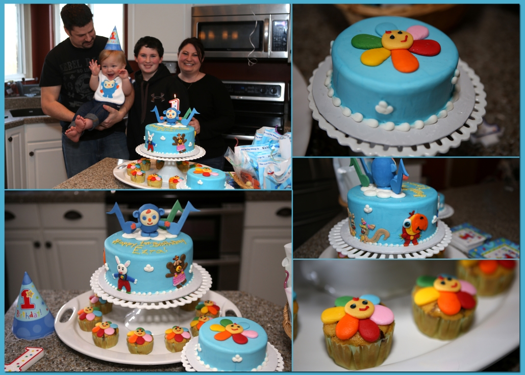 Ezra's 1st Birthday