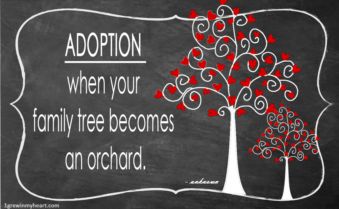 Adoption Quotes Awesome Adoption Quote Meme's  Grew In My Heart  Adoption
